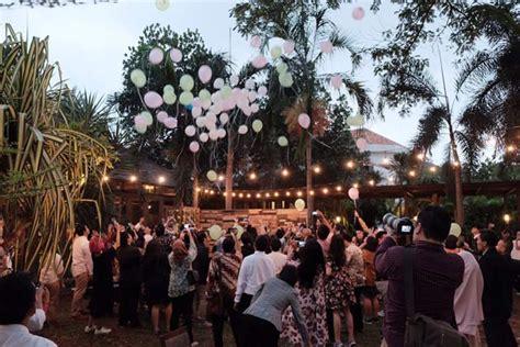 rekomendasi lokasi wedding outdoor  jakarta  simpel