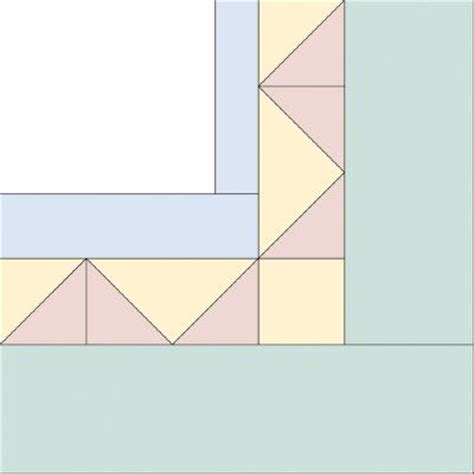 triangle quilt border templates 17 best images about quilts borders and binding on