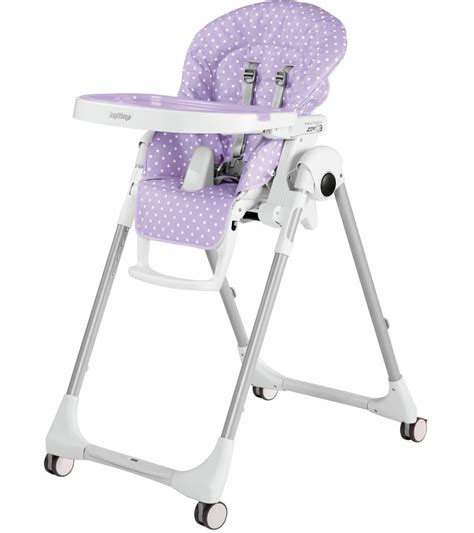 chaise peg perego prima pappa peg perego prima pappa zero 3 high chair baby dot lilac