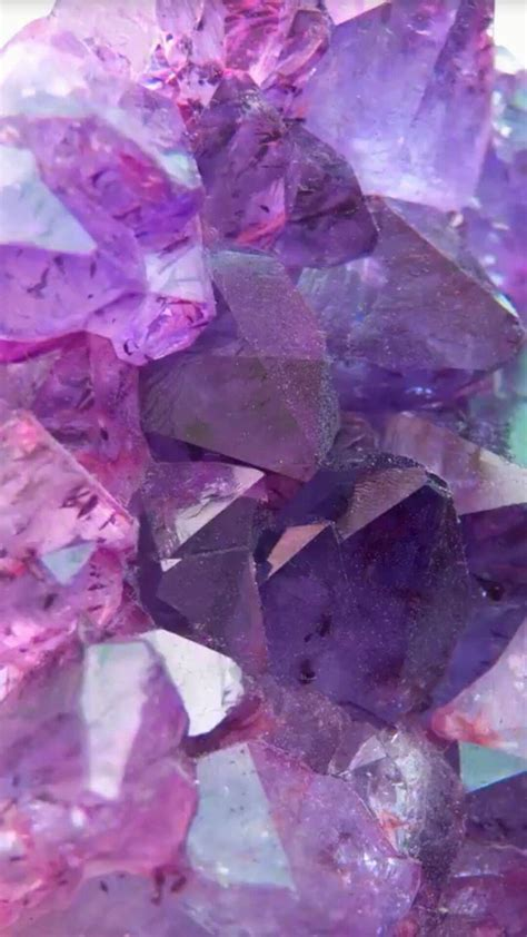 Purple Neon Crystal Stone Wallpapers - Wallpaper Cave