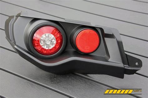 can am outlander tail light led rear lights flasher brake lights for can am
