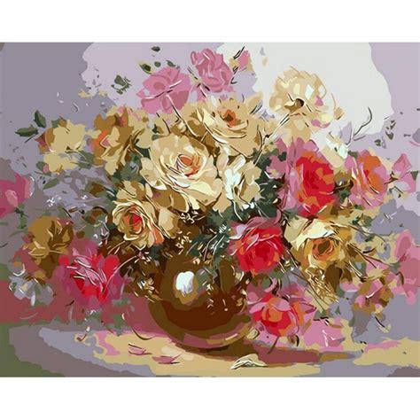 quadros decor wall art Flower arrangement Frameless