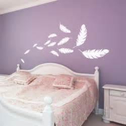 pot de chambre pour adulte stickers envolée de plumes plumes chambres et stickers