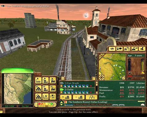Railroad Tycoon 3 Gameplay Youtube