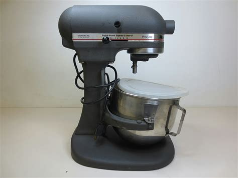 Kitchenaid Mixer Ksm5 kitchenaid kitchen aid proline mixer ksm5 heavy duty grey