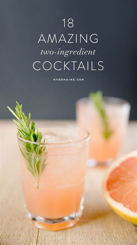 over ros 233 mix up your happy hour with these 2 ingredient