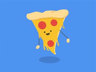 Dribbble Pizza Snack Animation Gifs Dribble Cool