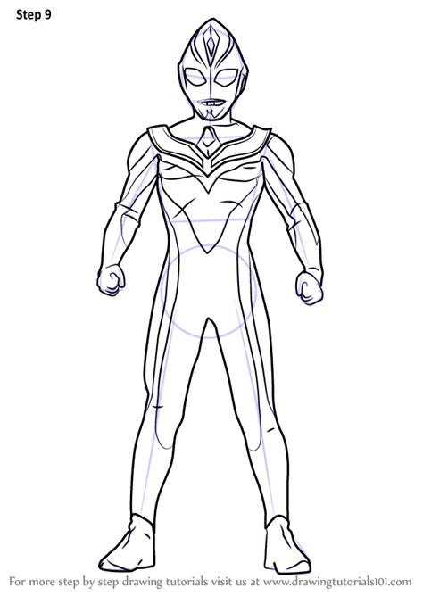 learn   draw ultraman dyna ultraman step  step drawing tutorials