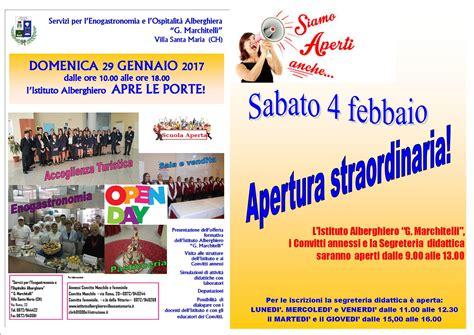 Scuola Di Cucina Villa Santa by Open Day All Istituto Alberghiero G Marchitelli Di