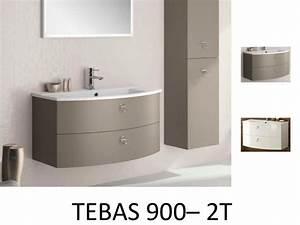 meubles lave mains robinetteries meuble sdb meuble de With meuble de salle de bain arrondi