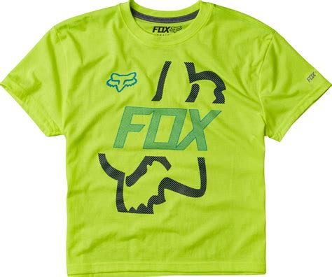 fox motocross t shirts fox racing youth boys flip shot tech short sleeve