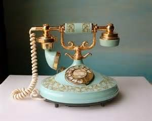Old-Fashioned French Phone