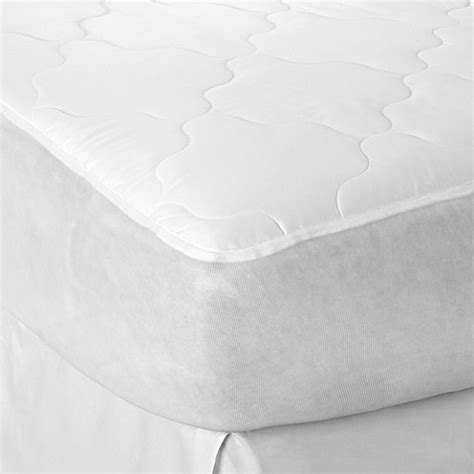 bed bath beyond mattress protector therapedic 174 waterproof mattress pad bed bath beyond