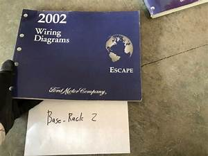 2002 Ford Escape Wiring Diagram Evtm Service Manual Book