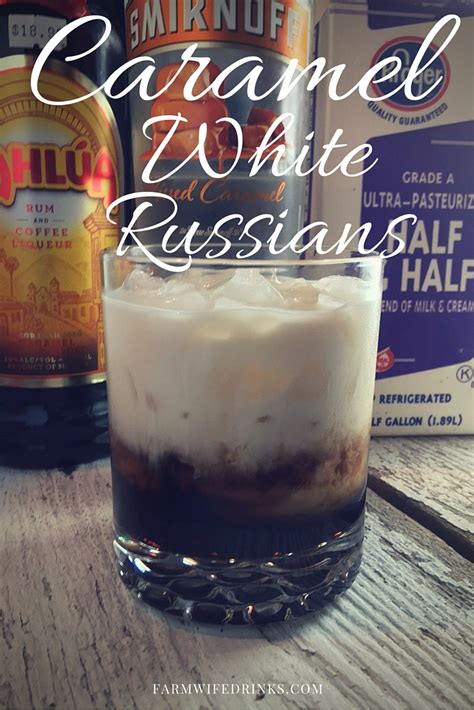 There's nothing quite as satisfying as exploring new flavors, whether it's in traditional cooking recipes, or looking at something else in terms of your outlet. Caramel White Russians - The Farmwife Drinks
