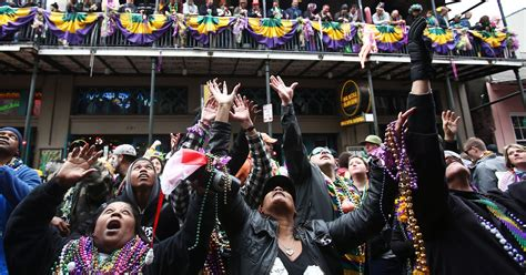 news today new orleans marks mardi gras with a riot of color