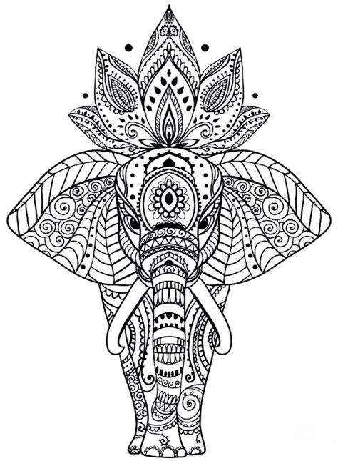 Best 25+ Mandala Elephant Ideas On Pinterest Mandala