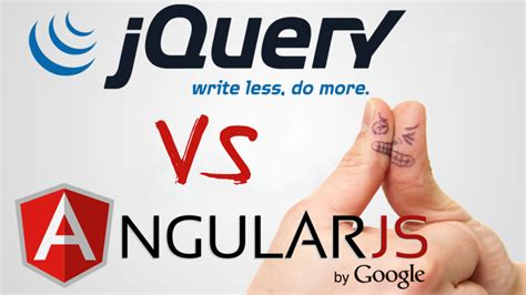 What Is The Difference Between Jquery And Angular Js