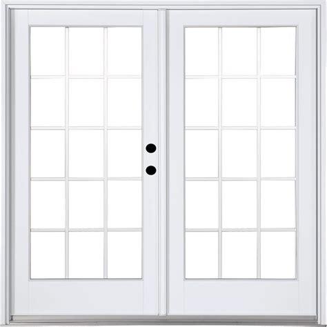 mp doors 72 in x 80 in fiberglass smooth white left