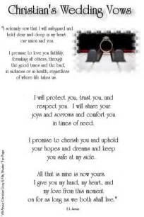 christian wedding vows best 25 christian wedding vows ideas on
