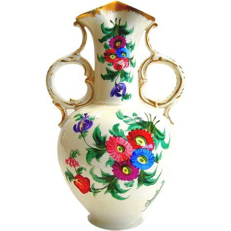 deco de vase transparent val st lambert plum overlay cut to clear deco deco pour vase transparent agaroth