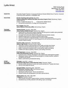 art teacher resume examples sample secondary teacher With instructor resume