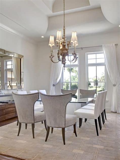 White Dining Room  Houzz