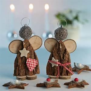 Basteln Holz Weihnachten Kostenlos : weihnachten nat rlich dekorieren ideen zum selbermachen ~ Lizthompson.info Haus und Dekorationen