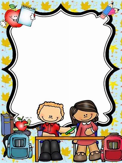 Paper Binder Clipart Borders Plate Teacher Covers