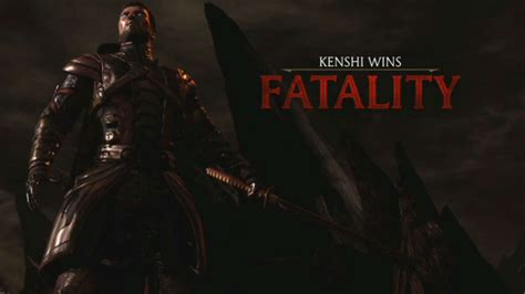 Kenshi's Fatality And X-ray