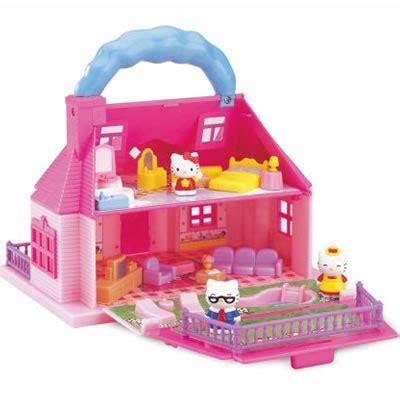 Hello Kitty Puppenhaus Puppenstube Puppen Haus Neu Megastore