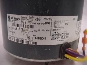 G E Condensor Fan Motor 5kcp39pg 208 2 Hp
