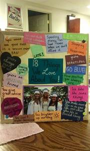Me and my best friend made this for our best friends 18th ...