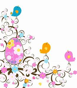 Papier Autocollant Transparent : easter decoration with flowers png transparent clipart ~ Nature-et-papiers.com Idées de Décoration