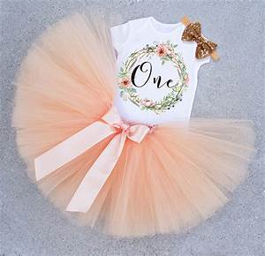 1 Year Baby Girl Birthday Dress Toddler Clothes First 1st ...