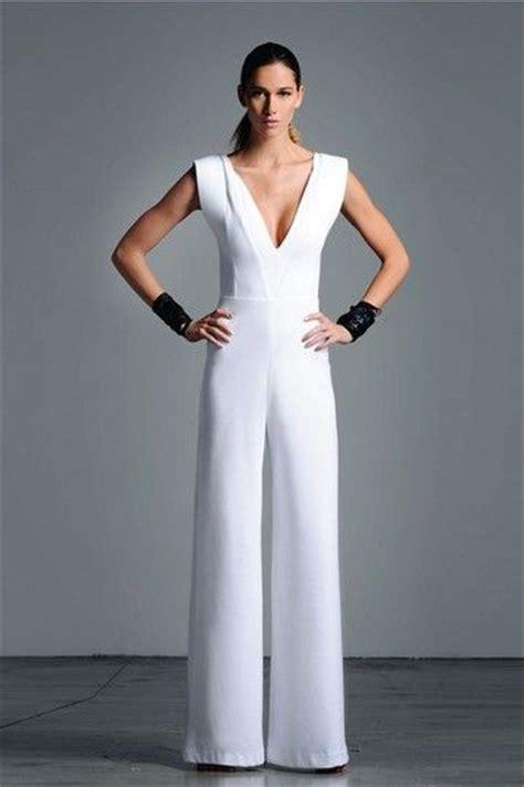 bridesmaid jumpsuit jumpsuit by white sleek chic on hautelook