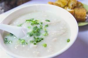 Chinese Chicken and Rice Porridge (Congee) recipe ...
