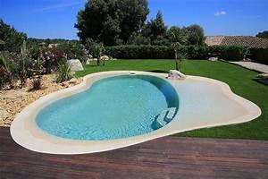 plage immergee et piscine diffazur piscines With piscine avec plage immergee