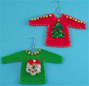 DIY Ugly Sweater Ornament