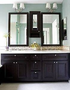 1000 images about j bathroom on pinterest dark cabinets With what kind of paint to use on kitchen cabinets for purple and silver wall art