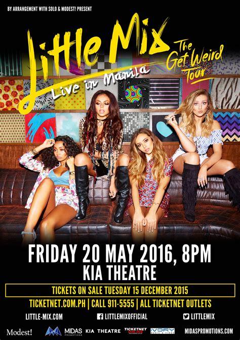 Little Mix The Get Weird Tour comes to Manila! | Inquirer ...