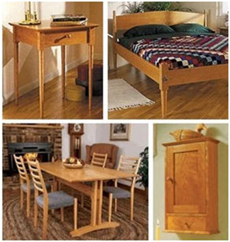 shaker style furniture plans  wood store