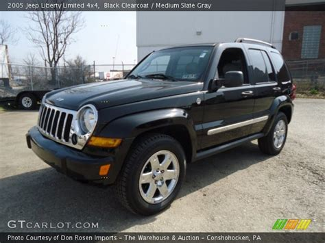 black jeep liberty interior black clearcoat 2005 jeep liberty limited 4x4 medium