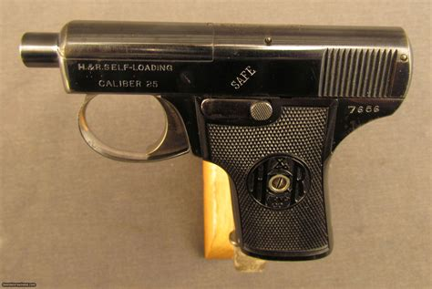 H&r Vest Pocket Pistol 1st Type .25 Auto