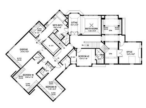 Bedroom Floor Exercises by Second Floor Plan Master Bedroom W Master Bathroom Wics