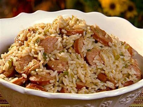 dirty rice with smoked sausage recipe the neelys food
