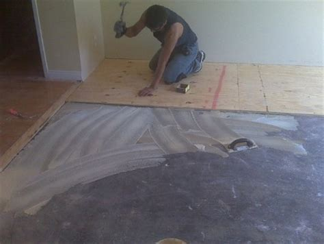 Hardwood Floor Cupping Concrete Slab by Hardwood Flooring On Concrete Flooring Contractor Talk