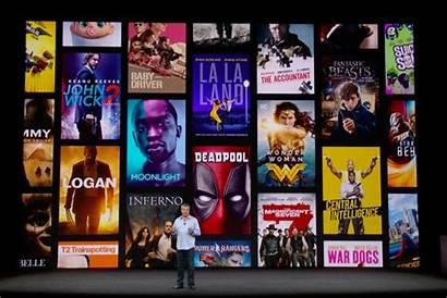 Apple Tv Box 4k Movies Screen Onstage