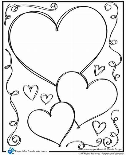 Coloring Heart Pages Pretty Printable Colorin Getcolorings