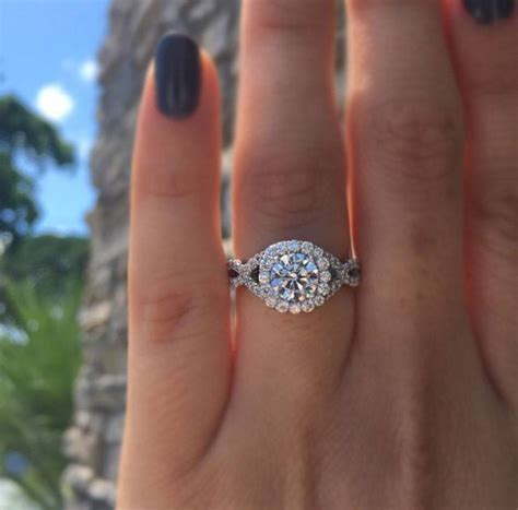 halo engagement rings for fall our picks